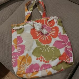 Cute Clinique thick tote bag